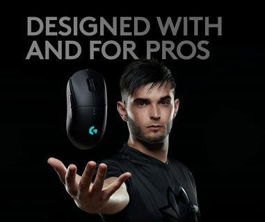 Logitech G Pro Wireless Gaming Mouse - Black