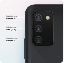 Multiple ways to capture your world with Triple Camera