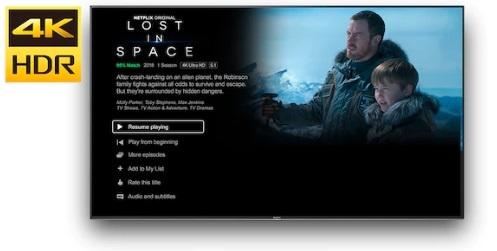 Watch Netflix in 4K HDR