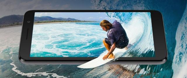 Maximized Screen,  Minimized Body