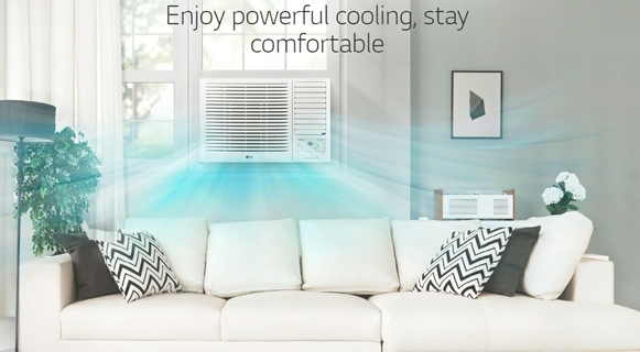 Enjoy Powerful Cooling, Stay Comfortable