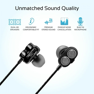 Secure And Comfortable Fit With Interchangeable Ear Pieces
