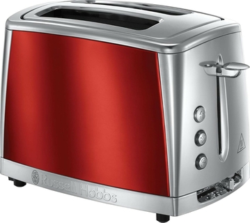 Russell Hobbs Luna Two Slice Red Toaster, 23220