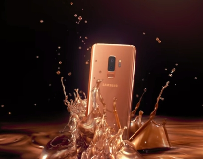 NEW Samsung Galaxy S9 | S9+ Sunrise Gold