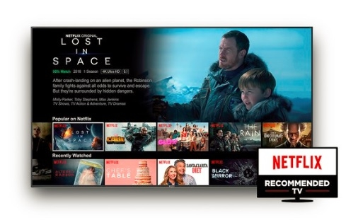 Our Android 4K TVs are recommended by Netflix