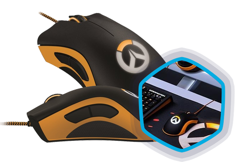 Razer Overwatch DeathAdder Chroma Wired Gaming Mouse | Xcite