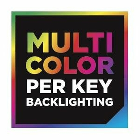 Multi Color, Per Key Backlighting For Virtually Unlimited Customization