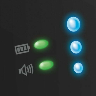 Connection And Low Power Indicators