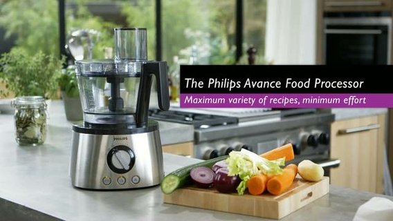 Philips 3 In 1 1300w Avance Collection Food Processor Hr7778 00 01
