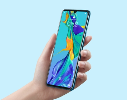 Huawei P30 Display: Magnificent Elegance