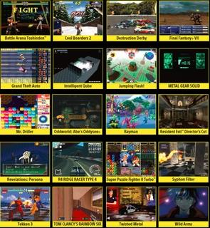 ٢٠ لعبة محملة مسبقاً من أفضل ألعاب بلاي ستيشن