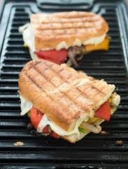 Grill Paninis, Meat And Vegetables