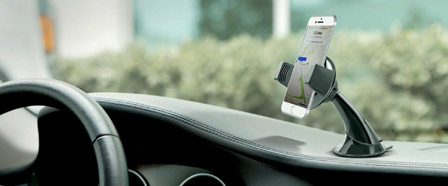Mounts Effortlessly to Your Car's Dash or Windscreen