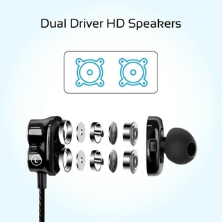 Dual Dynamic Drivers Earphone