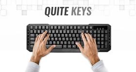 Whisper Quite Low-Profile Keys