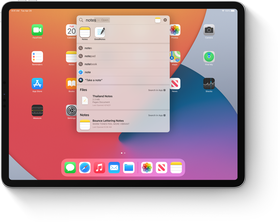 iPadOS. Smooth operating system.
