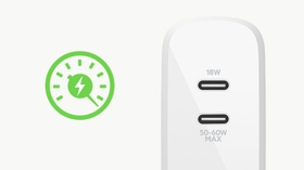 FAST CHARGING WITH USB-C POWER DELIVERY