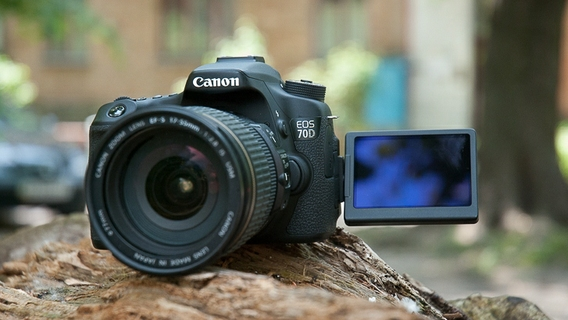 Canon EOS 70D 20 2MP Wi-Fi DSLR Camera With EF-S 18-135mm