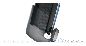 Integrated Hair lift comb