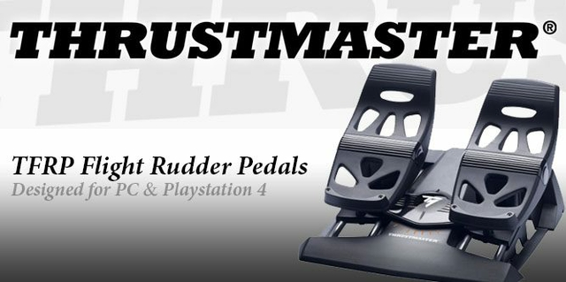 Thrustmaster T Flight Rudder Pedals | Xcite Alghanim