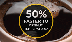 50% Faster To Optimum Temperature