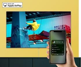 يتوافق مع ميزة AirPlay 2