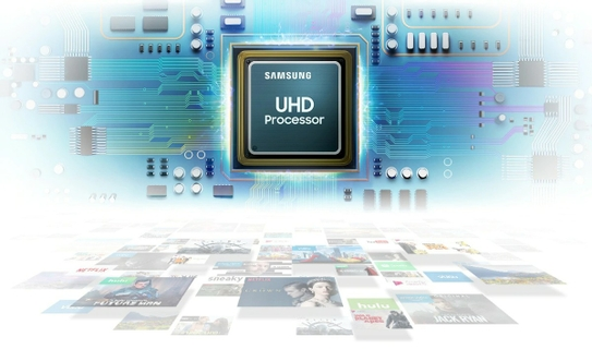 UHD Processor, Powerful Picture Quality