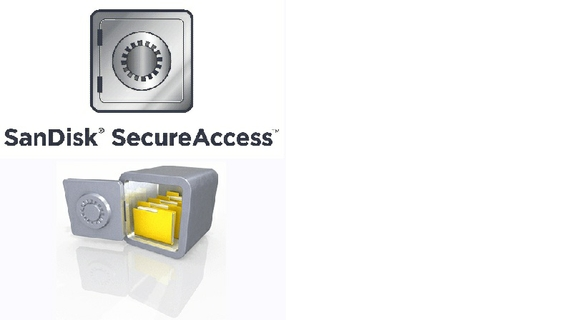 SanDisk SecureAccess Software Protects Drive from Unauthorized Access