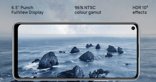 """6.5"""" Punch FullView Display"""