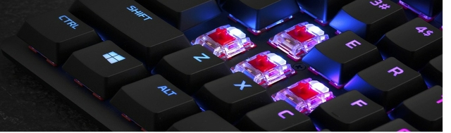 HyperX mechanical switches