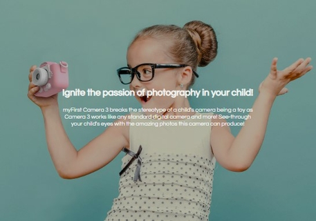 Ignite the passion of photography in your child!