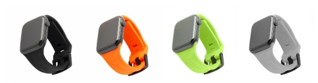 UAG Apple Watch Scout 44mm Silicon Strap