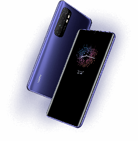 Flagship design with curved 3D cover on front and back