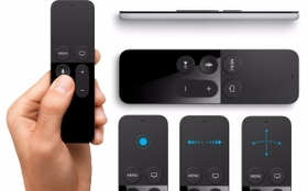 The Siri Remote - Touch, Voice & feel fully immersed