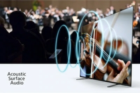 Sound and picture in harmony - the screen is the speaker