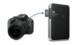 Built-in SD card slot