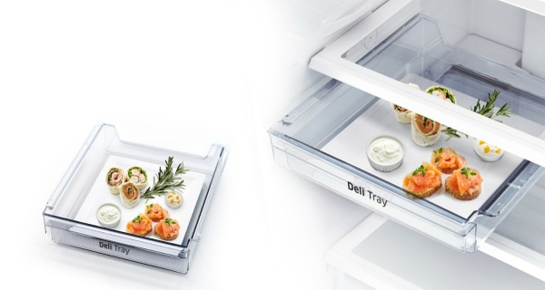Easily organize the foods you need every day