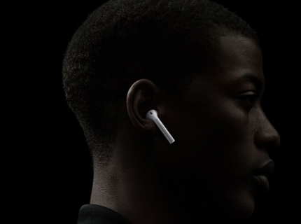 Wireless Earphones, No More Tangles
