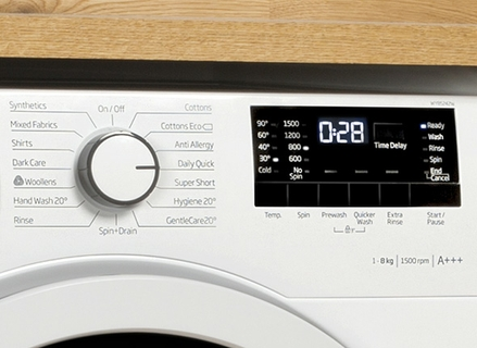Stylish Digital Display with Electronic Knob