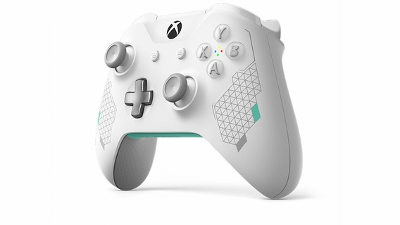 Xbox One Wireless Controller – Sport White Special Edition | Xbox