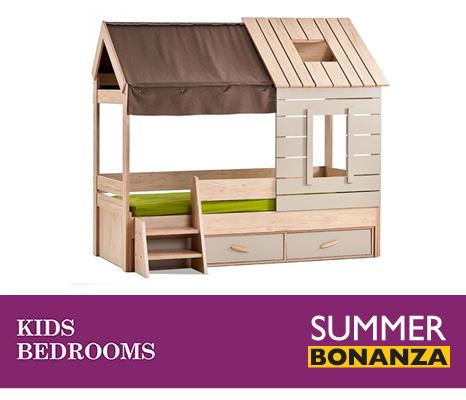 Summer Bonanza Kids Bedroom