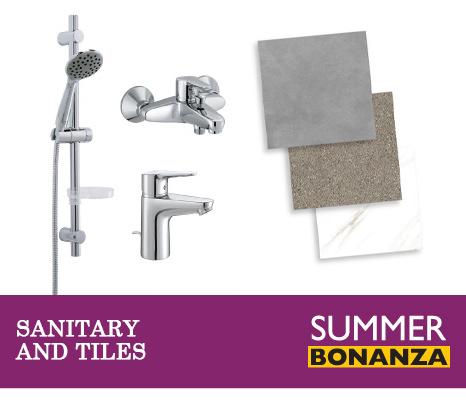 Summer Bonanza Bathrooms