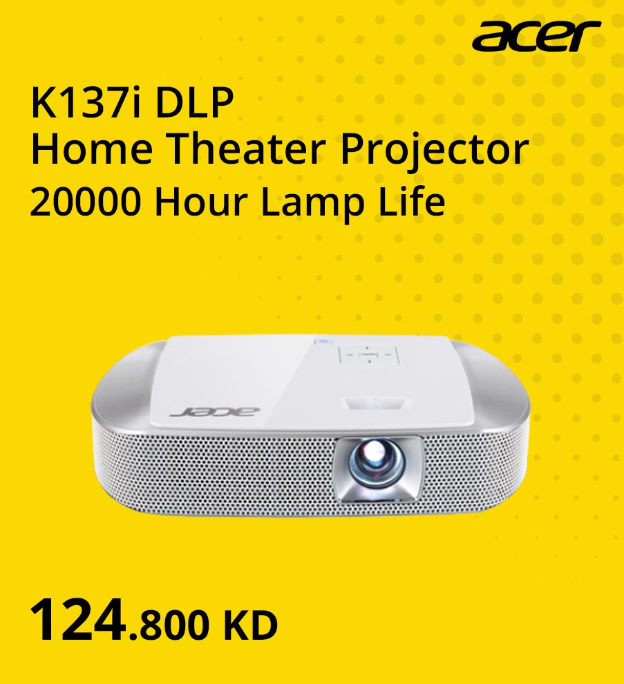 'Summer Clearance KW EN - Projector Acer @ 124.8