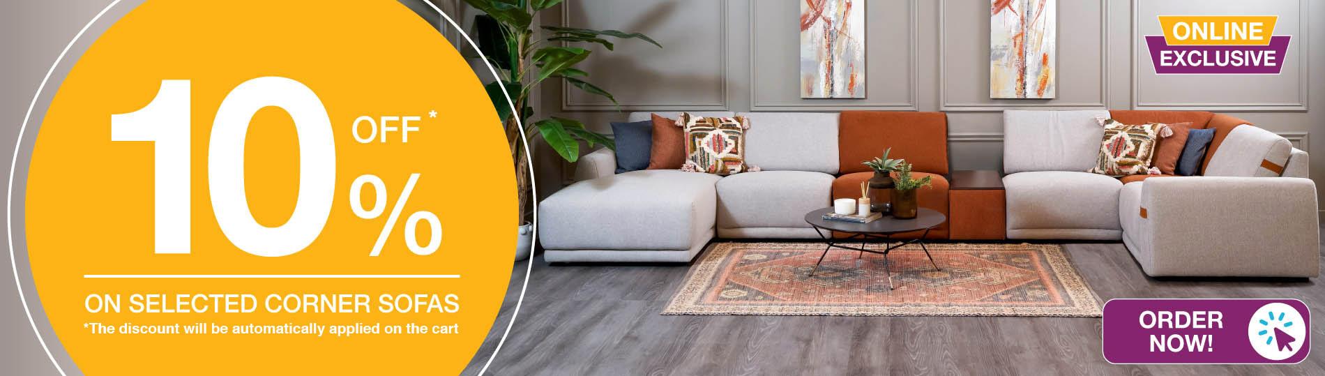 online exclusive corner sofa