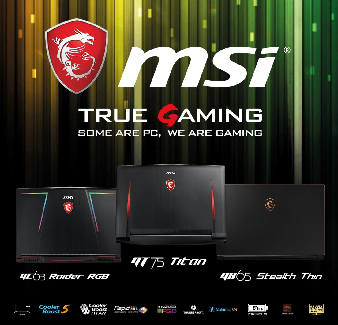 MSI - True Gaming